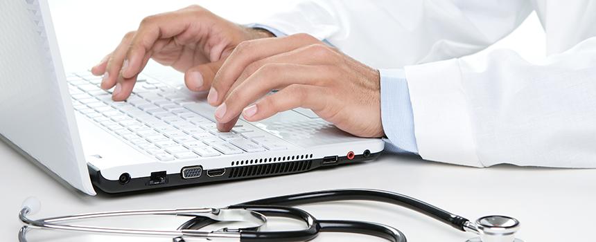 Praxishomepage Agentur für den Gesundheitsmarkt