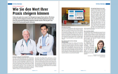 Praxisnachfolger finden – Übergabe mit System – Titelstory bei KV Schleswig-Holstein.